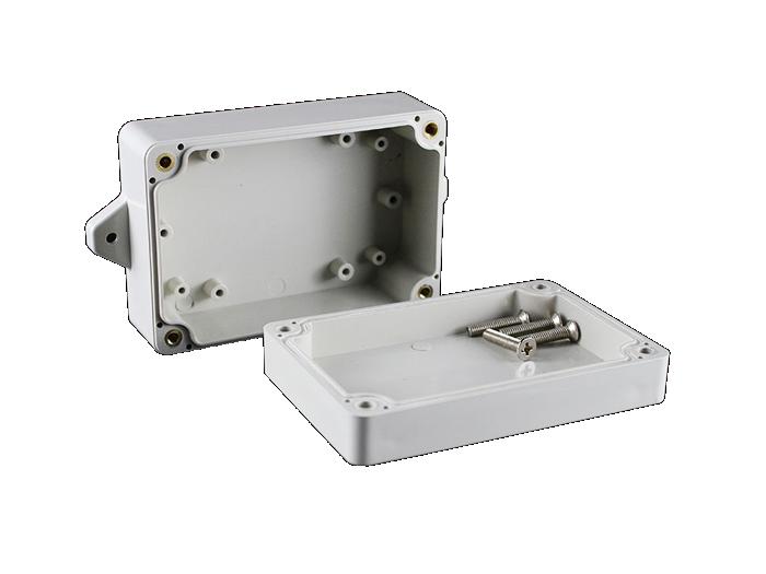 M2-100604G(100*68*40mm)Small Flange Mounted Waterproof Box