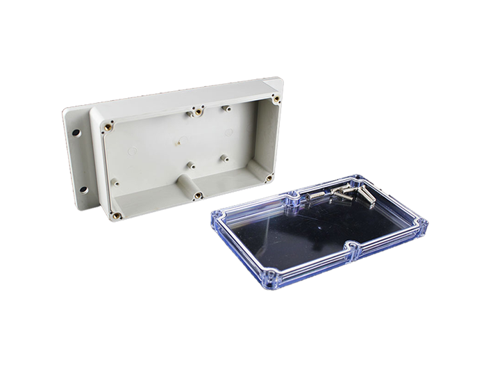 M2-150904T(158*90*46mm)Clear Top ABS Junction Box