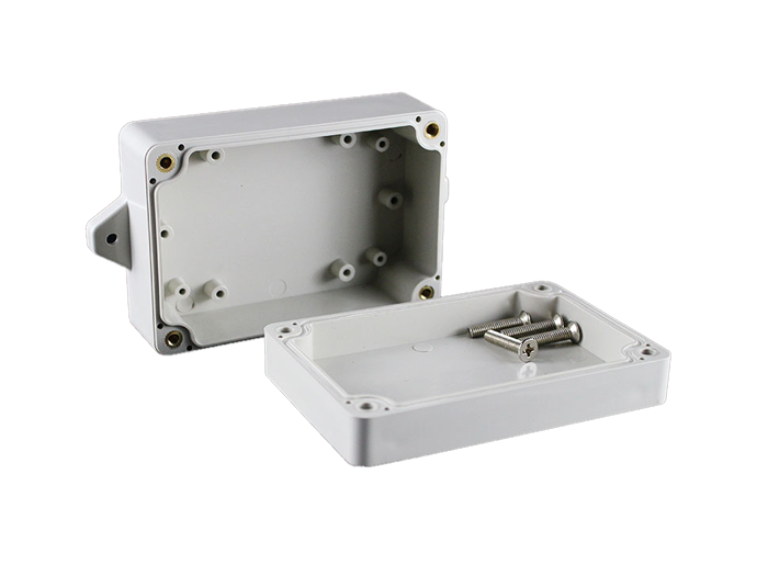 M2-100604G(100*68*40mm)Small Flange Mounted Waterproof Box