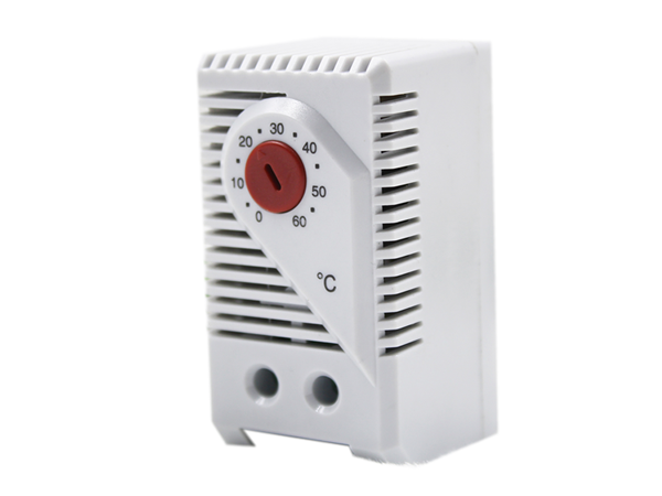 KTO 011 Small Thermostat NC with RED temperature dial