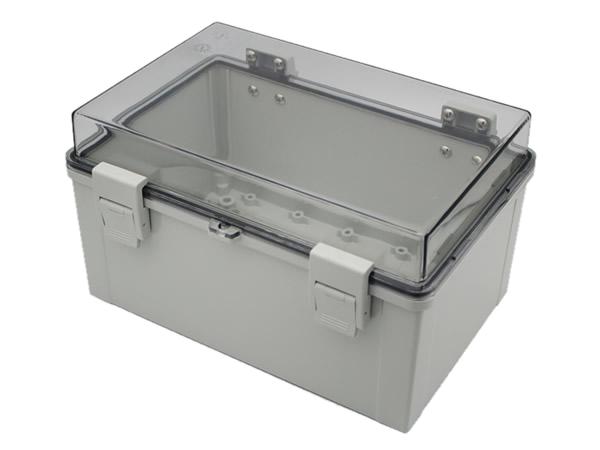 Buckle hinged waterproof box